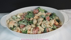 Creamy Pasta Salad - Nance and Robyn make the same recipe